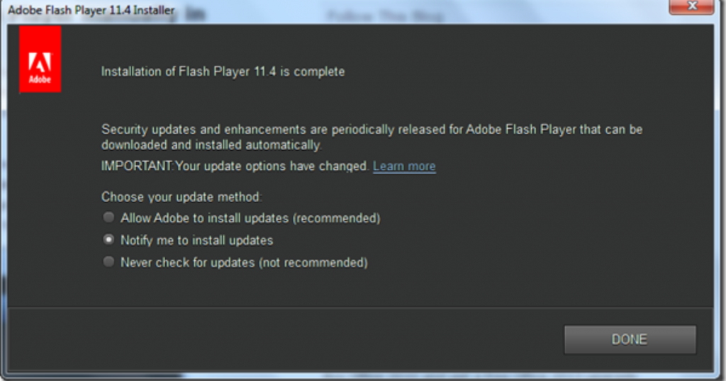 How To Update Adobe Flash Player