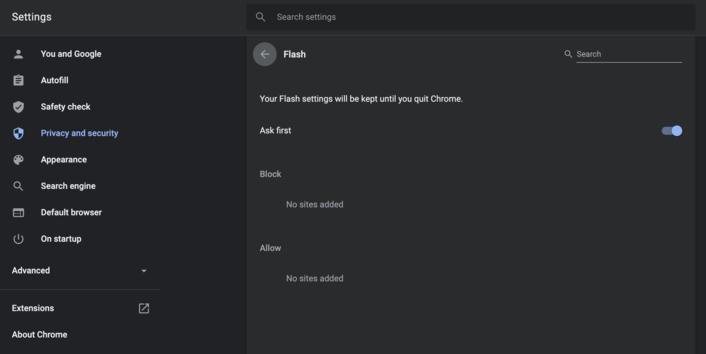 Unblock Adobe Flash Player In Chrome