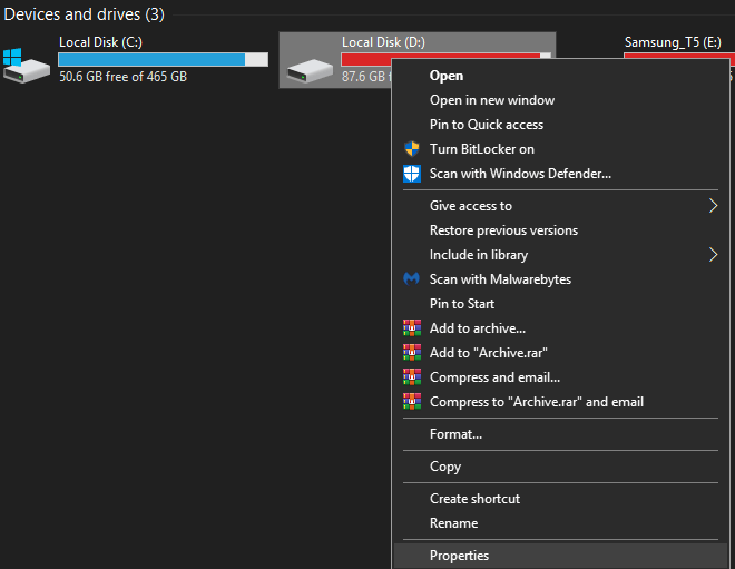 Disable Indexing on Older Windows 10 PCs