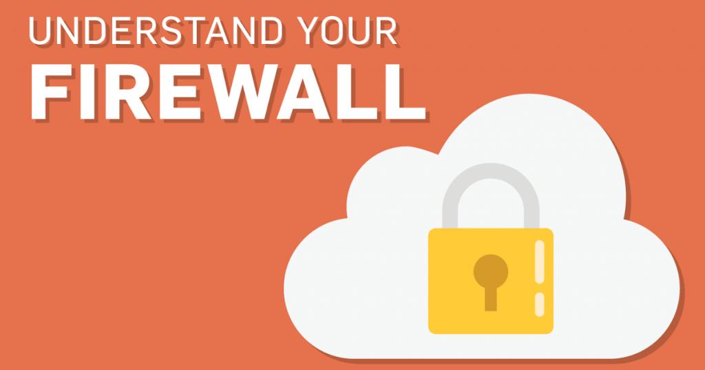 Raise a firewall