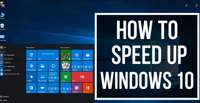 Ways To Speed Up Windows 10